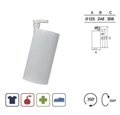 Luminaria Led Cilinder max Comercio