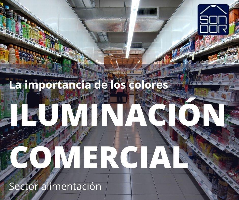Iluminación comercial profesional